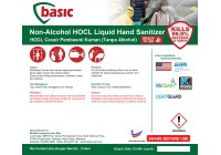 McQwin Basic Non-Alcohol HOCL Liquid Hand Sanitizer