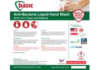 McQwin Basic Anti-Bacteria Liquid Hand Wash / Hand Soap