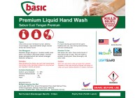 McQwin Basic Premium Liquid Hand Wash / Hand Soap