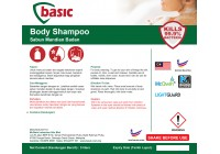 McQwin Basic Body Shampoo / Body Wash / Shower Gel