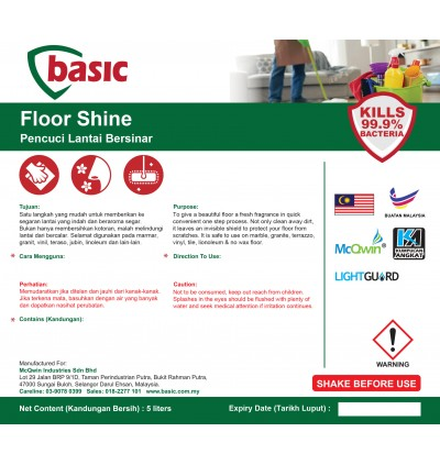 McQwin Basic Floor Mop & Shine